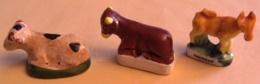 1 Taureau 2 Vaches / Lot De 3 Feves - Fèves