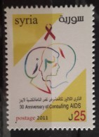 Syria 2011 MNH - 30 Years Of Combating Aids - Medicine - Syria