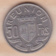 ILE DE LA REUNION. 50 FRANCS 1962 - Reunión