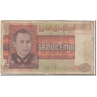 Billet, Birmanie, 25 Kyats, KM:59, B+ - Myanmar