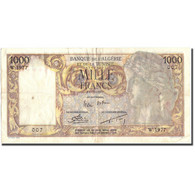 Billet, Algeria, 1000 Francs, 1957, 1957-02-14, KM:107b, TB+ - Algérie