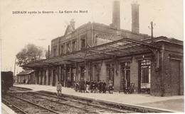 DENAIN - Gare Du Nord - Destructions Guerre 14/18 - Denain