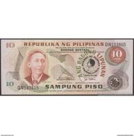 TWN - PHILIPPINES 167a - 10 Piso 1981 Inauguration Of President F. Marcos - Prefix QN UNC - Filippine