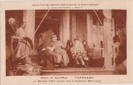 Bn - Cpa YOKOHAMA - Dames De Saint Maur - La Maréchal Joffre Causant Avec La Supérieure Mère Louise - Yokohama