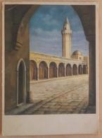 TRIPOLI (LYBIA) - La Moschea Dei Karamanli - Dandolo Bellini - Karamanli Mosque  Vg 1950 - Libia