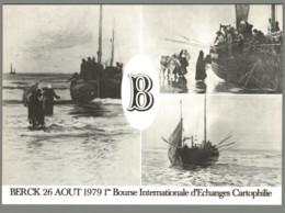 CPM 62 - Berck - 1ère Bourse D'Echange Cartophile - 1979 - Un Lot De 5 Cartes Postales - Berck
