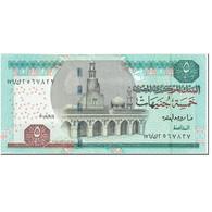 Billet, Égypte, 5 Pounds, 2008, Undated (2008), KM:63c, NEUF - Egypte