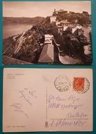 Cartolina Castel Gandolfo - Panorama. Viaggiata 1954 - Italia