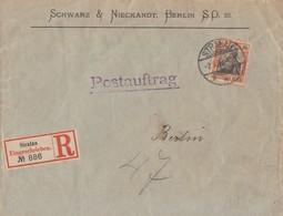 DR R-Brief Postauftrag EF Minr.74 Stralau 2.9.03 - Deutschland