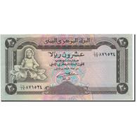 Billet, Yemen Arab Republic, 20 Rials, KM:26a, SUP - Yémen