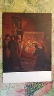 """Saving Dresden Gallery"" By Truse/Ternovskaya - 1950s Postcard / Rembrandt / Train Vagon - Dresden"