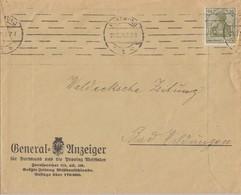 DR Werbebrief General-Anzeiger Dortmund EF Minr.147 Dortmund 22.6.21 Ansehen !!!!!!!!!! - Briefe U. Dokumente