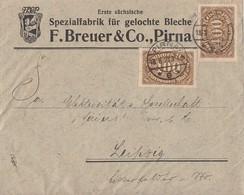 DR Brief Mif Minr.20x 239,2x 250 Pirna 18.8.23 - Briefe U. Dokumente