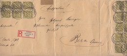 DR R-Brief Mef Minr.46x 324 Freiburg 7.11.23 Gel. In Schweiz Zensur - Briefe U. Dokumente