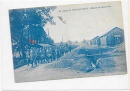 CPA Camp De Coetquidan Retour De Manoeuvres - Guer Coetquidan