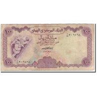 Billet, Yemen Arab Republic, 100 Rials, KM:16a, B+ - Yémen