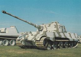 Konigstiger King Tiger German WW2 Tank At Aberdeen Military Postcard - War 1939-45