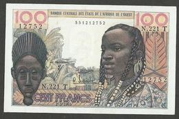 WEST AFRICAN STATES 100 FRANCS 1965, TOGO PICK #801Te XF++ VERY CRISP BANKNOTE - États D'Afrique De L'Ouest