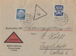 DR NN-Brief Mif Minr.514,726 Braunschweig 30.11.39 - Briefe U. Dokumente