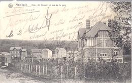 Membach Baelen  Villa St Hubert Et Vue Sur La Gare  Edit Nels - Baelen