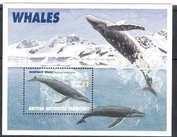 British Antarctic Territory 1996 WWF Blue Whale MS MNH - British Antarctic Territory  (BAT)