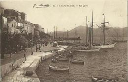 CPA De CALVI-PLAGE - Les Quais. - Calvi