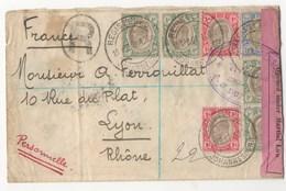 LETTRE DE JOHANNESBOURG DE 1902 POUR LYON EN RECOMMANDE - Autres