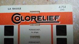 COLORELIEF - LA BAULE - 8 VUES EN COULEURS ET EN RELIEF - PARIS - Diapositives