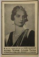 Doodsprentje / Image Mortuaire - Koningin / Reine Astrid (Leopold III) - Stockholm, 1905 - Küssnacht, 1935 - Religion & Esotérisme