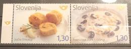 Slovenia, 2018, Gastronomy (MNH) - Slovenia