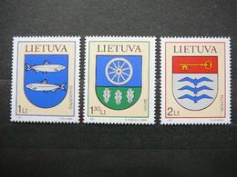 Coats Of Arms # Lietuva Litauen Lituanie Litouwen Lithuania # 2007 MNH #Mi. 930/2 - Lithuania