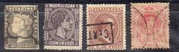 ESPAGNE Et COLONIES !  Timbres Anciens Et Des PHILIPPINES Depuis 1850 - Colecciones