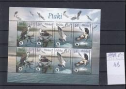 Polen (BBK) Michel Cat.No. Mnh/** Sheet 4079/4082 Birds - Blokken & Velletjes