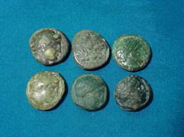 Grecques En Bronze, Greek Coin - Grecques