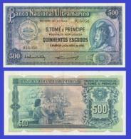 SAINT TOME & PRINCIPE 500 ESCUDOS 1956 - REPLICA --  REPRODUCTION - Sao Tomé Et Principe