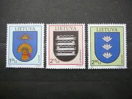 Coats Of Arms # Lietuva Litauen Lituanie Litouwen Lithuania # 2011 MNH #Mi. 1074/6 - Lituanie