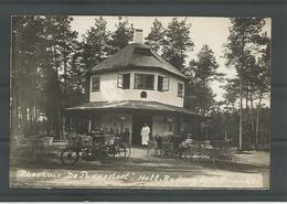 Oude Fotokaart Theehuis De Paddestoel. Hollandsche Rading - Pays-Bas
