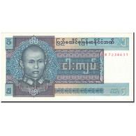 Billet, Birmanie, 5 Kyats, KM:57, NEUF - Myanmar