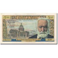 France, 5 Nouveaux Francs, 5 NF 1959-1965 ''Victor Hugo'', 1961-04-06, TTB+ - 5 NF 1959-1965 ''Victor Hugo''
