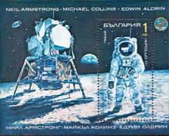 Bulgaria MNH SS - Space