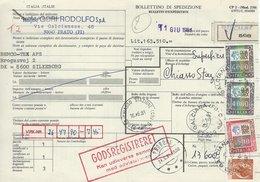 Italy - Bollettino Di Spedizione    H-159 - Italy