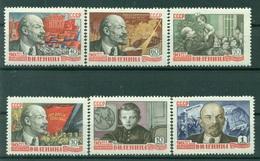 URSS 1960 - Y & T N. 2267/72 - Lénine - 1923-1991 URSS