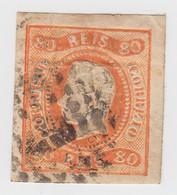 PORTUGAL. N° 23. 80 REIS   / 1294 - Portugal