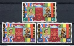 Etiopía 1965. Yvert A 83-85 ** MNH. - Etiopia