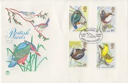Enveloppe  FDC  1er  Jour   GRANDE  BRETAGNE    Oiseaux   1980 - 1971-1980 Dezimalausgaben