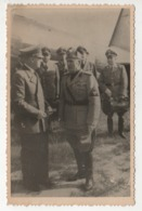 ° MILITARIA° WW2 °  ADOLF H.....  & BENITO M.............° PHOTO RUSSE ° VOIR SCAN DU DOS ° 84 X 132 Mm ° - Guerra 1939-45