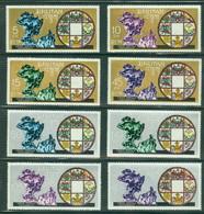 Bhutan 102-102G UPU, Mint NH, Scott 102-102G - Bhutan