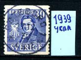 SVEZIA - SVERIGE - Year 1939 - Usato - Used - Utilisè - Gebraucht.- - Svezia