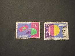SURINAME - P.A. 1964 COSMONAUTICA   2 VALORI  - NUOVI(++) - Suriname