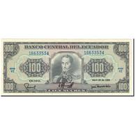 Billet, Équateur, 100 Sucres, 1990-04-20, KM:123, SUP+ - Equateur
